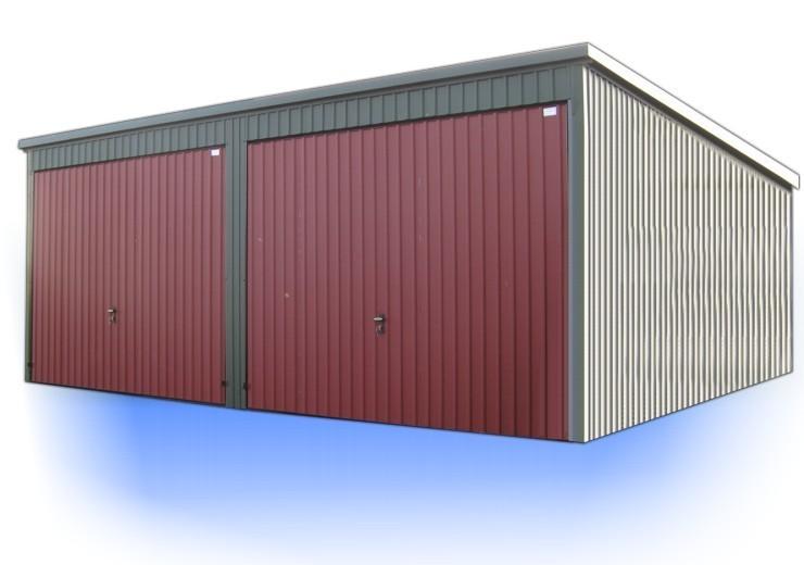 fertiggarage doppelgarage garage 6x8 meter containerhandel 24. Black Bedroom Furniture Sets. Home Design Ideas