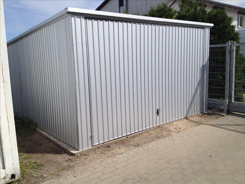 Fertiggarage  Fertiggarage, Garage, Lager voll verzinkt 7x4 Meter - Containerhandel 24