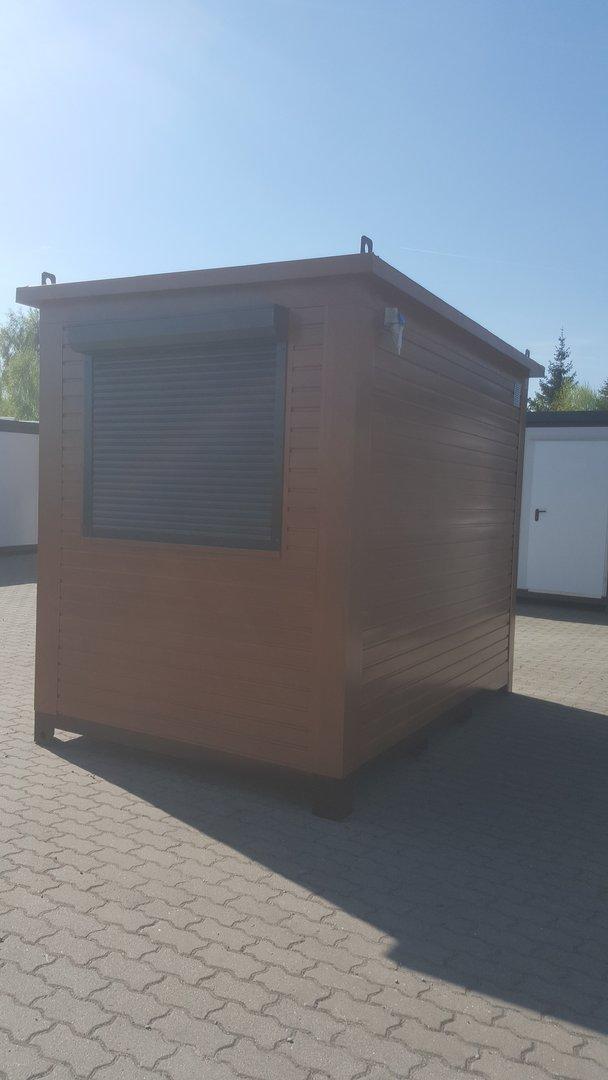 premium b rocontainer 3 00m x 2 00m mit el roll den. Black Bedroom Furniture Sets. Home Design Ideas