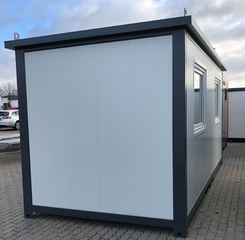 Bürocontainer, Wohncontainer 6x2,40 Meter